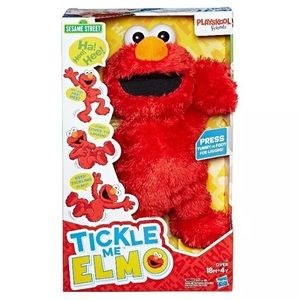 New Tickle Me Elmo Sesame Street Hasbro Playskool